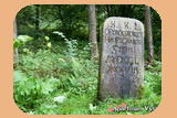 Hraniční kámen na Jasánkách